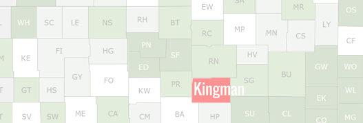 Kingman County Map