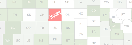 Rooks County Map
